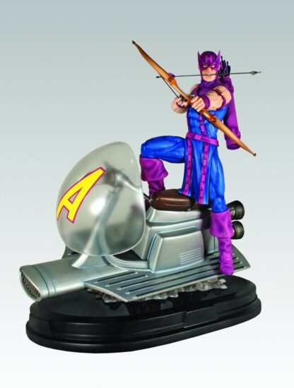 Hawkeye on Sky Cycle Statue from Gentle Giant and Marvel