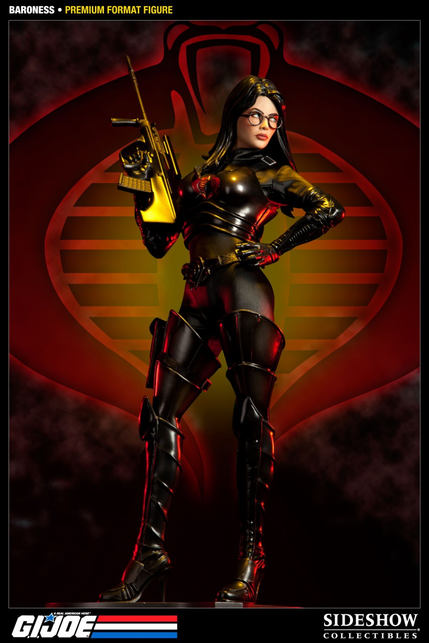 G.I. Joe Baroness Premium Format Figure from Sideshow Collectibles