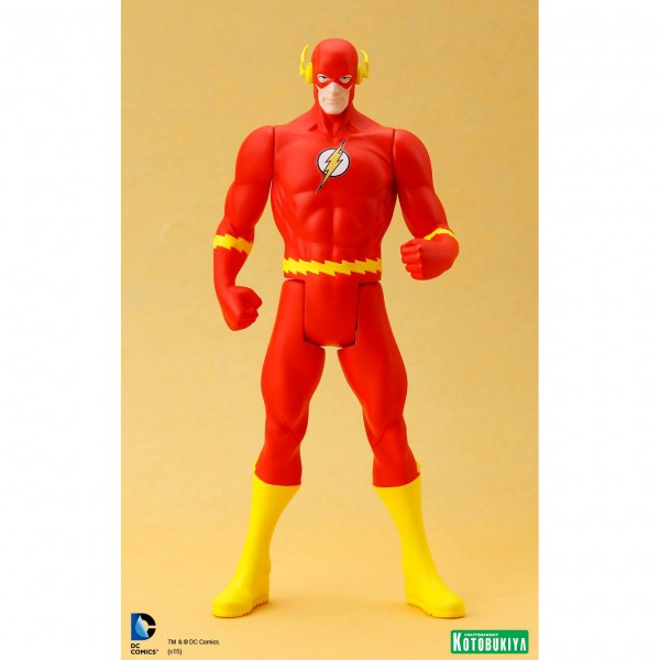 DC Universe The Flash Classic Costume ArtFX+ Statue from Kotobukiya