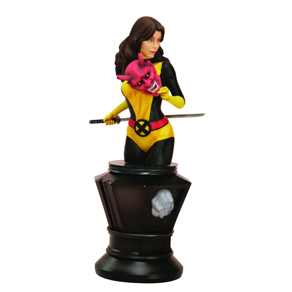 Kitty Pryde X-Men Classic Chapter Bust from Marvel and Kotobukiya