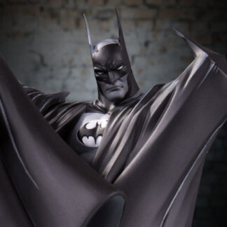 Batman Black & White by Todd McFarlane statue from DC Direct