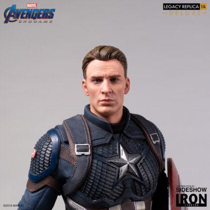 Captain America Deluxe Avengers Endgame 1:4 Scale Legacy Replica Statue from Iron Studios