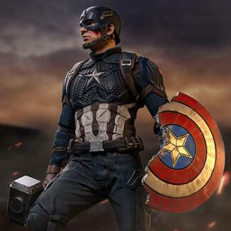 Captain America Deluxe Marvel Statue