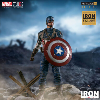 Captain America The First Avenger Statue from Iron Studios and Marvel