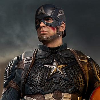Captain America Avengers: Endgame 1:4 Legacy Replica statue from Iron Studios