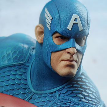Captain America Statue from Sideshow Collectibles
