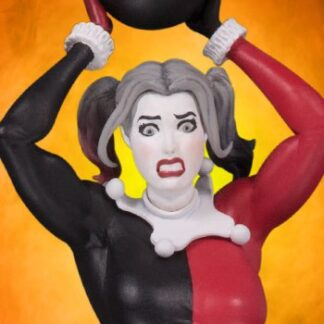 Harely Quinn Red White and Black Statue by Frank Cho from DC Direct