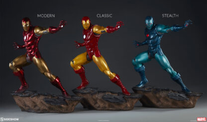 Iron Man Stealth Suit Avengers Assemble Statue from Sideshow Collectibles and Marvel