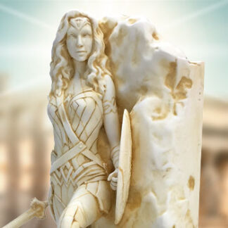 Wonder Woman Neo-Classical Marble Statue from Factory Entertainment