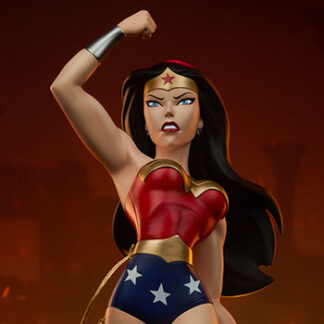 Wonder Woman Animated Series Collection Statue from Sideshow Collectibles