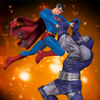 Superman vs. Darkseid Battle Statue from DC Direct