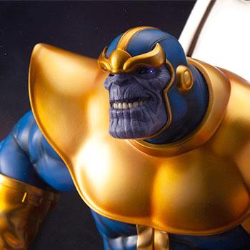 Thanos on Space Throne statue from Kotobukiya and Marvel
