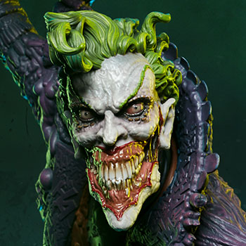 The Joker Gotham City Nightmare Collection Statue from Sideshow Collectibles and DC Comics