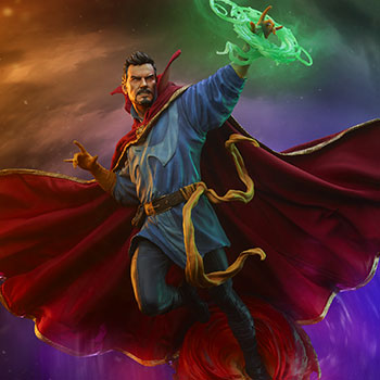 Doctor Strange Maquette from Marvel and Sideshow Collectibles