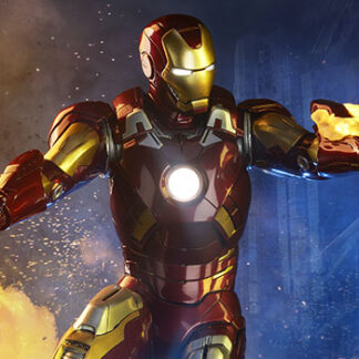 Iron Man Mark VII Maquette from Marvel and Sideshow Collectibles