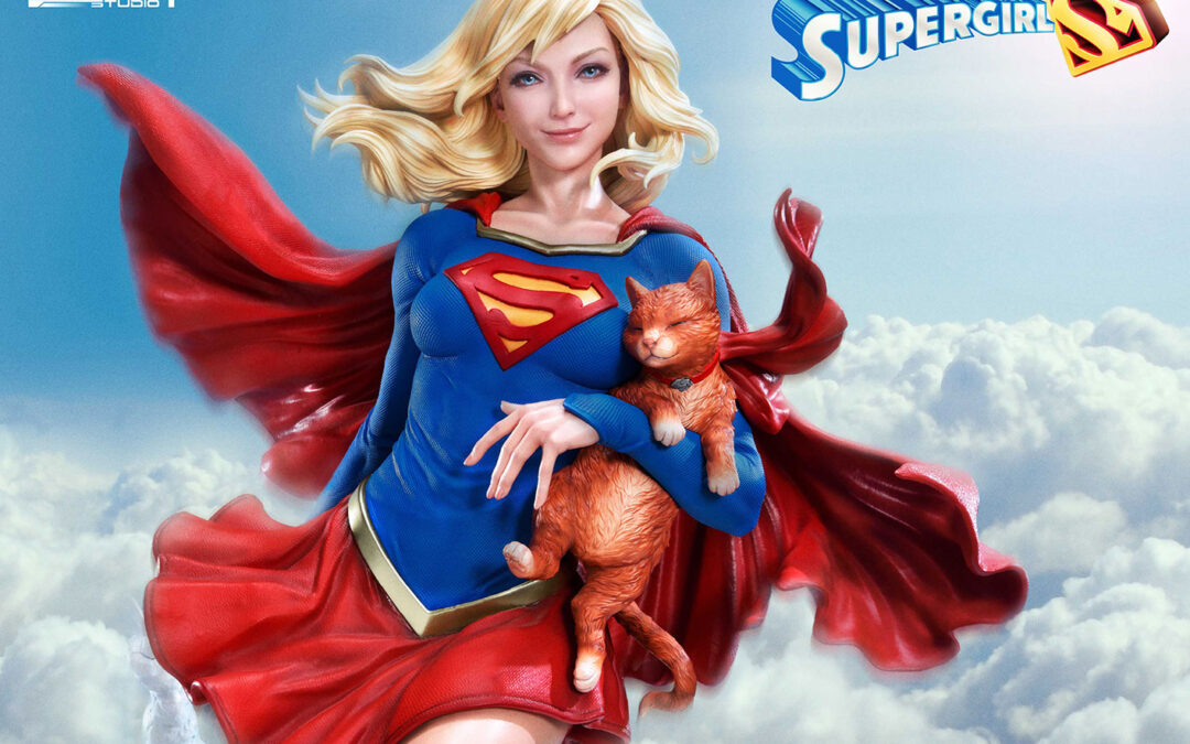 Supergirl 1:3 Scale Statue by Prime 1 Studio