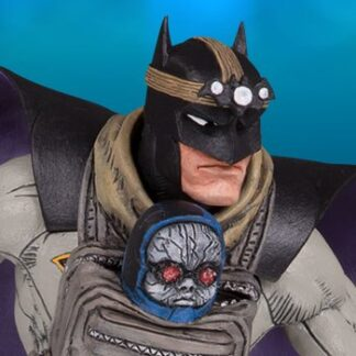 Batman with Darkseid Baby Statue by DC Direct