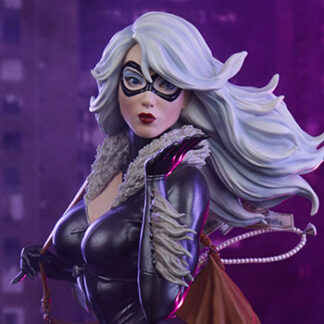Black Cat Marvel Mark Brooks Artist Series Statue from Sideshow Collectibles