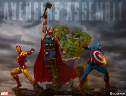 Avengers Assemble Statues from Sideshow Collectibles and Marvel