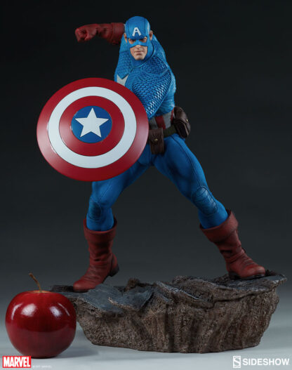 Captain America Avengers Assemble Statue from Sideshow Collectibles and Marvel