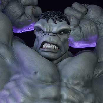 Gray Hulk Avengers Assemble Statue from Sideshow Collectibles