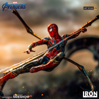 Iron Spider vs Outrider