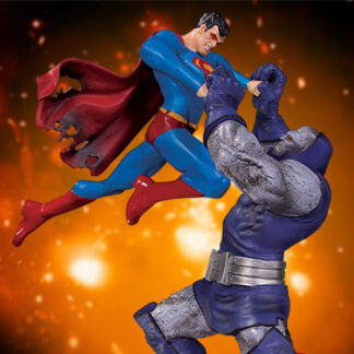Superman vs. Darkseid Battle Statue from DC Direct